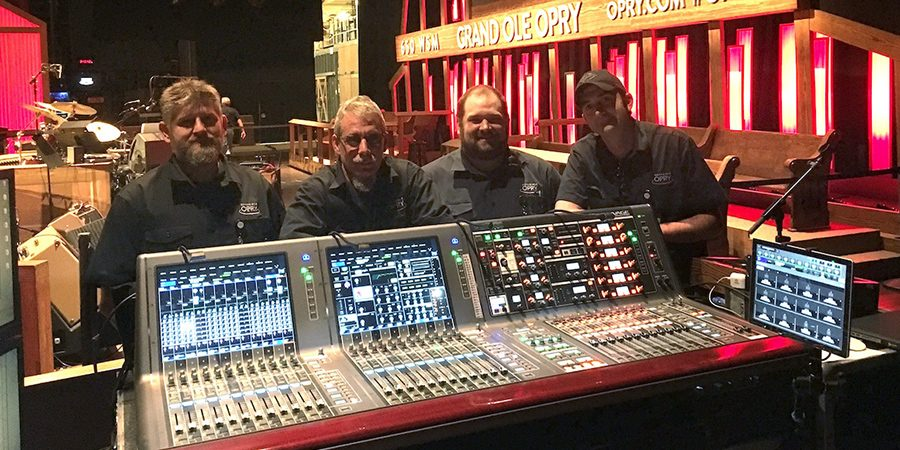 Yamaha RIVAGE PM10 Installed At Grand Ole Opry