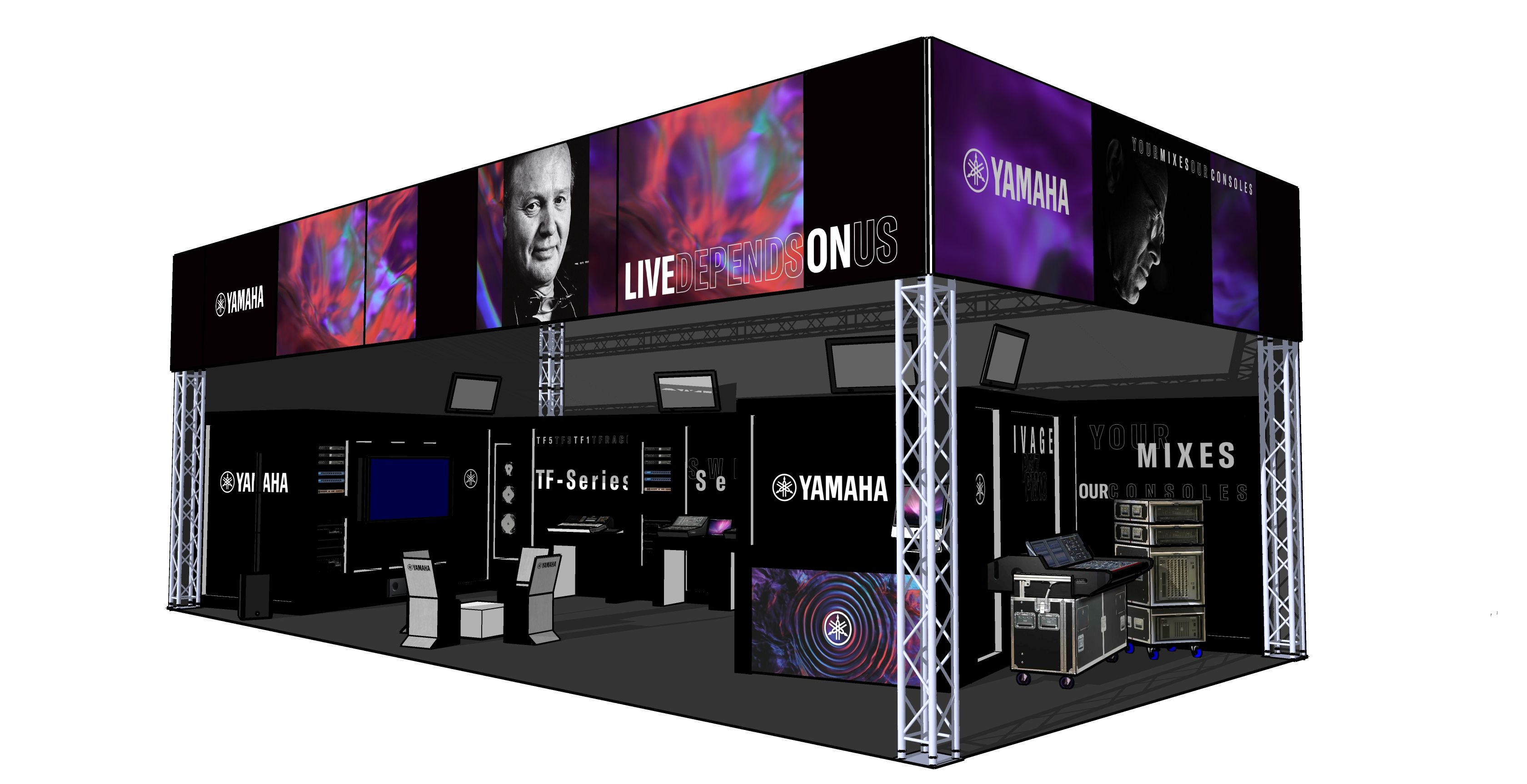 Held every two years at the Rotterdam Ahoy, Cue is the biggest and most important trade show for events, installation and entertainment technology in the Benelux countries. The 2020 show sees Yamaha expanding its presence with a series of seminars.