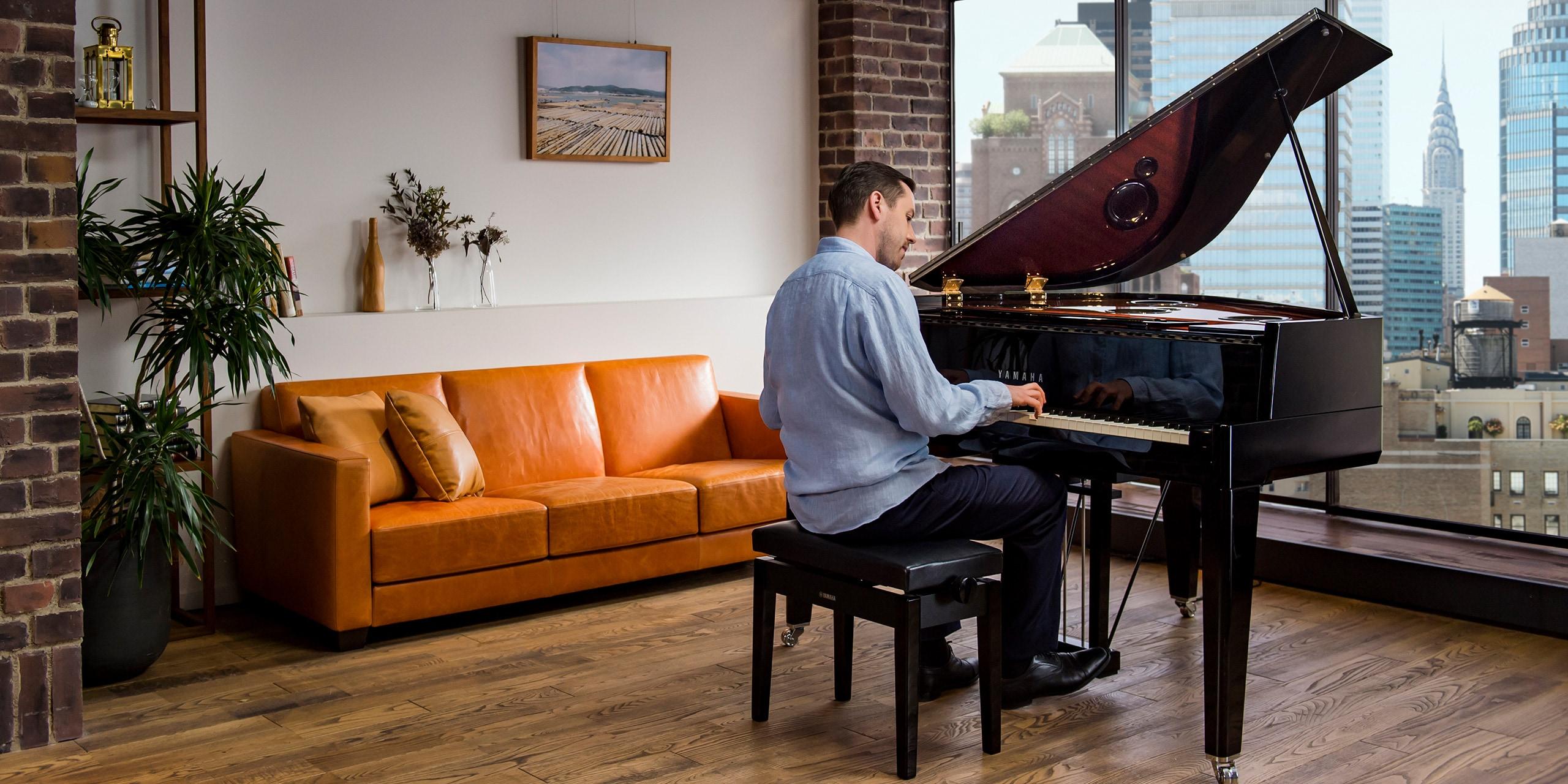 Foto Unser Designansatz entstand aus unserem Anspruch an maximaler Effizienz und traditioneller Klavierbaukunst.